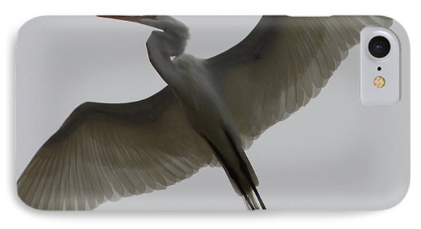 Snowy Egret Wings Of An Angel IPhone Case