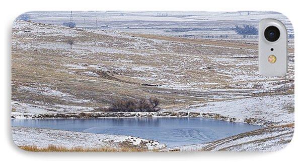 Snowy Hills 1 IPhone Case