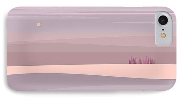 Soft Colored Landscape IPhone Case