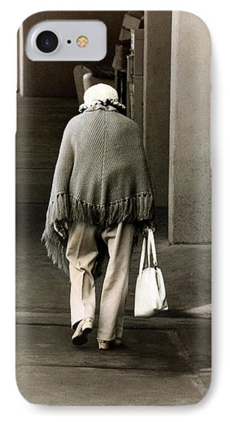 Solitary Lady IPhone Case
