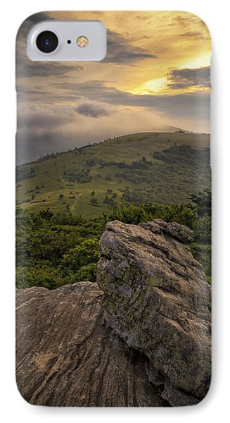 Rocky Sunset - Roan Mountain IPhone Case