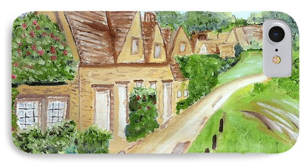 Somewhere In Cotswolds South West England IPhone Case