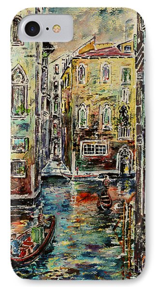 Somewhere In Venice IPhone Case