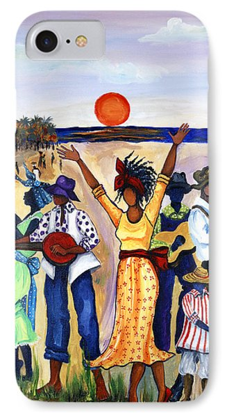 Africa iPhone 8 Case - Songs Of Zion by Diane Britton Dunham