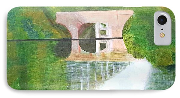 Sonning Bridge In Autumn IPhone Case