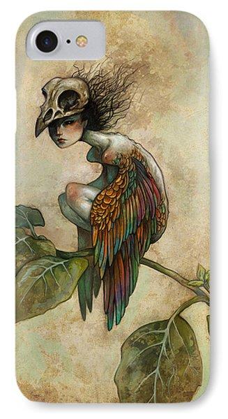 Animals iPhone 8 Case - Soul Of A Bird by Caroline Jamhour