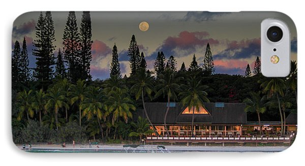 South Pacific Moonrise IPhone Case