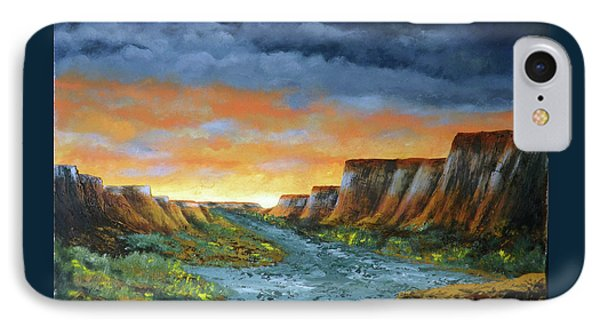 Spanish Broom Canyons Sunset 1of5 IPhone Case