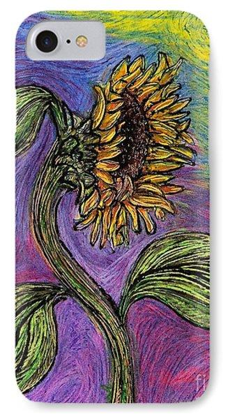 Spanish Sunflower IPhone Case