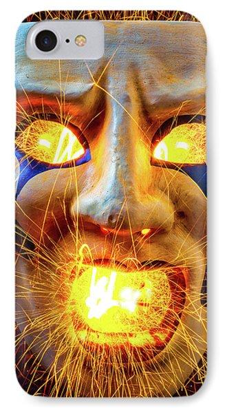 Sparking Mask IPhone Case