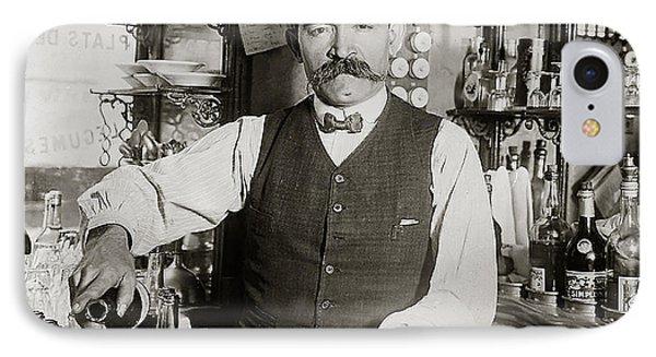 Speakeasy Bartender IPhone Case