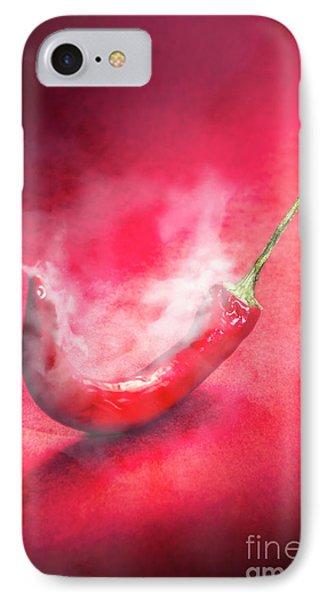 Spicy Food Art IPhone Case