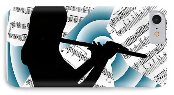 Spiral Music IPhone Case