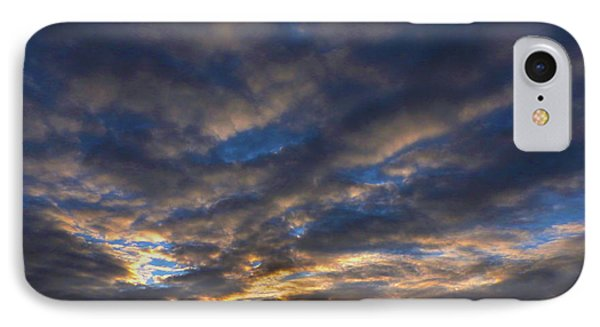 IPhone Case featuring the photograph Spiral Sunset by Mark Blauhoefer