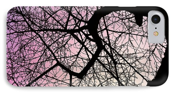 Spiral Tree IPhone Case