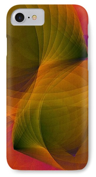 Spiraling Insight With Complicated Continuation IPhone Case