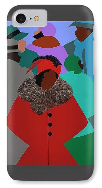 iPhone 8 Case - Spirit Of Zora by Synthia SAINT JAMES