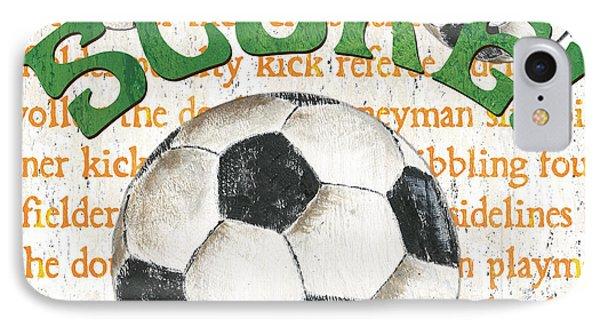 Sports Fan Soccer IPhone Case