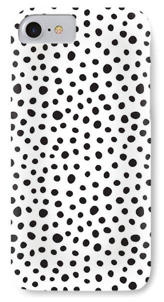 Beach iPhone 8 Case - Spots by Rachel Follett