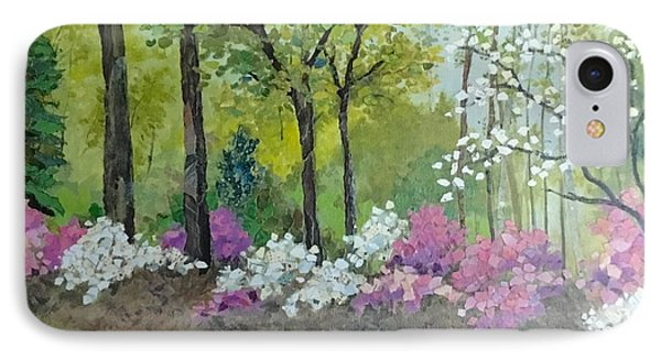 Spring Along Tega Cay Drive IPhone Case