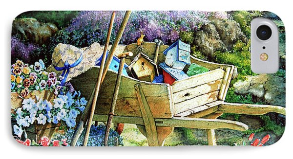 Garden iPhone 8 Case - Spring At Last by Hanne Lore Koehler