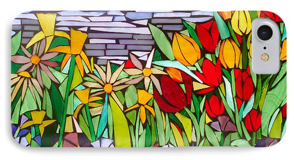 Spring Floral Mosaic IPhone Case