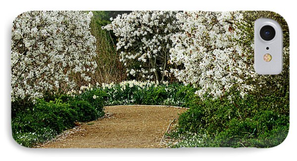 Spring Flowering Trees Wall Art IPhone Case