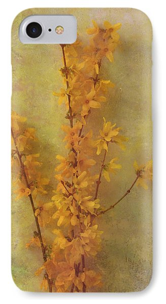 Spring Forsythia IPhone Case