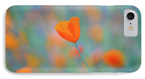 Flowers iPhone 8 Case - Spring Poppy by Anthony Michael Bonafede