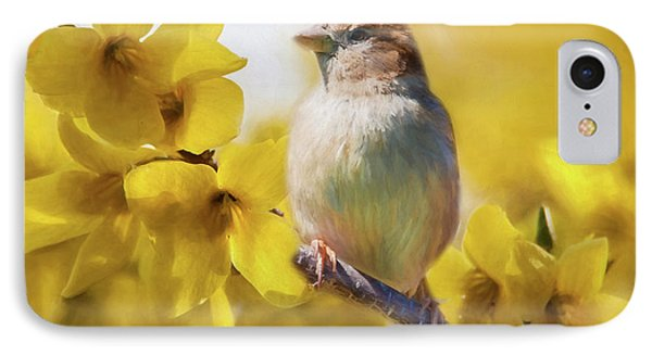 Spring Sparrow IPhone Case