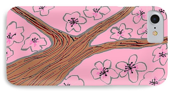 Spring Stained Glass 3 IPhone Case