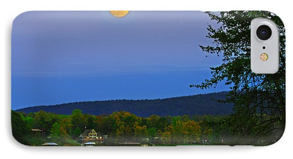 Spring's First Full Moon Smith Mountain Lake IPhone Case