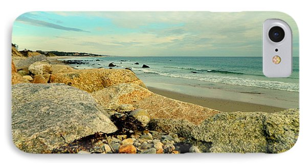 Squibby Cliffs And Mackerel Sky IPhone Case