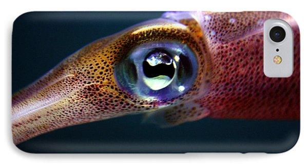 Squid Eye IPhone Case
