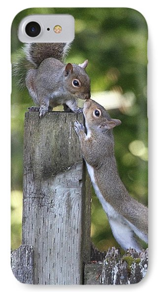 Squirrelly Affection IPhone Case