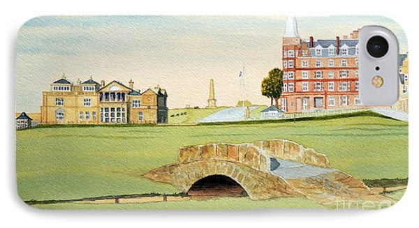 St Andrews Golf Course Scotland - Royal And Ancient IPhone Case