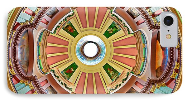 St Louis Old Courthouse Dome IPhone Case