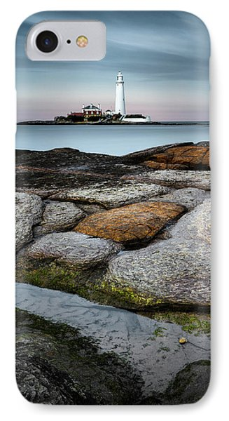 St Mary's Lighthouse IPhone Case
