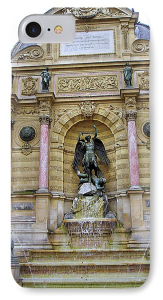 St. Michael's Fountain IPhone Case