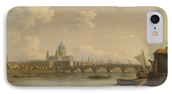 St Paul's And Blackfriars Bridge IPhone Case