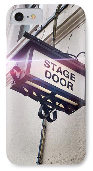 Stage Door Sign IPhone Case