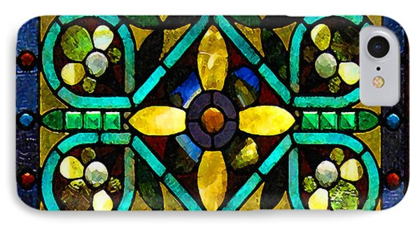 Stained Glass 1 IPhone Case