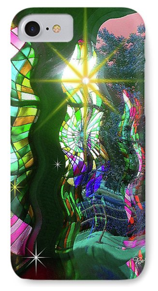 Stained Glass #4719_2 IPhone Case