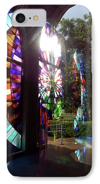 Stained Glass #4720 IPhone Case