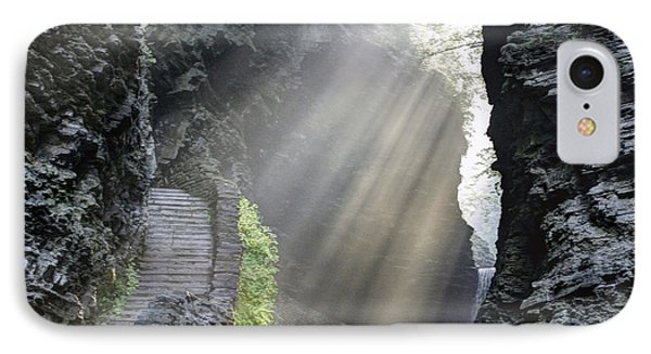 Stairway Into The Light IPhone Case