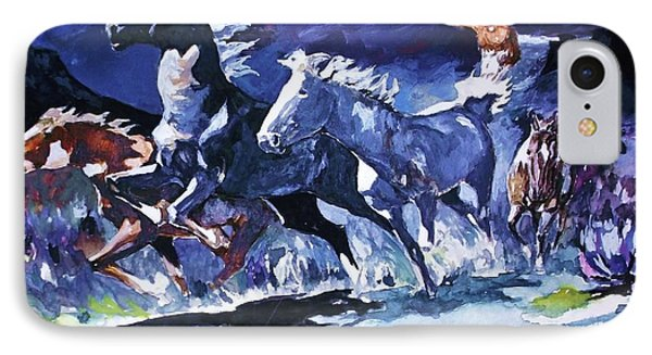 Stampede By Moonlight IPhone Case