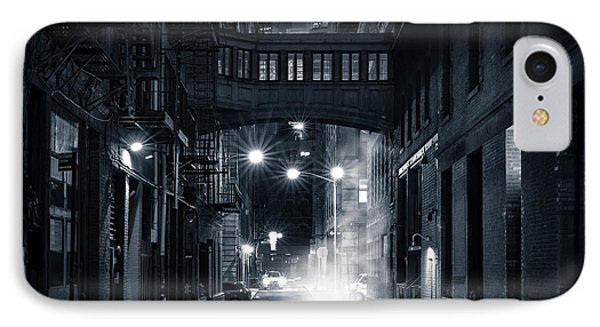 Staple Street Skybridge By Night IPhone Case