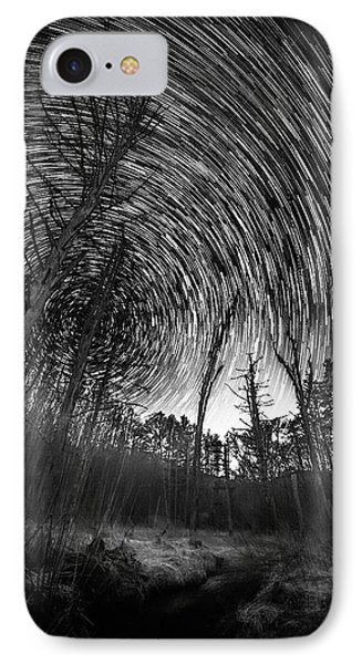 Star Trails - Blue Ridge Parkway IPhone Case