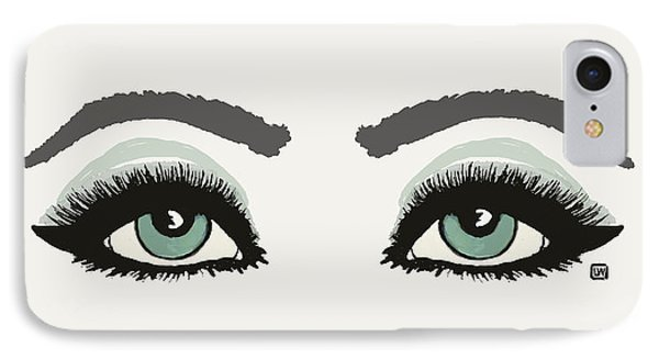 IPhone Case featuring the painting Starry Eyed by Lisa Weedn