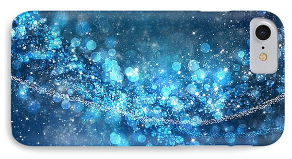 Stars And Bokeh IPhone Case